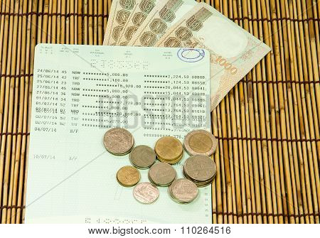 Account Book  And Currency