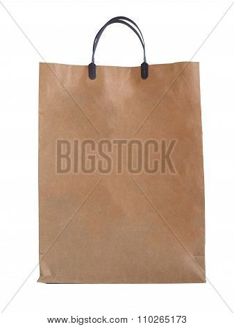 Paper Bags, On A White Background.