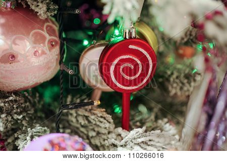 Lolly Pop Christmas Tree Decor