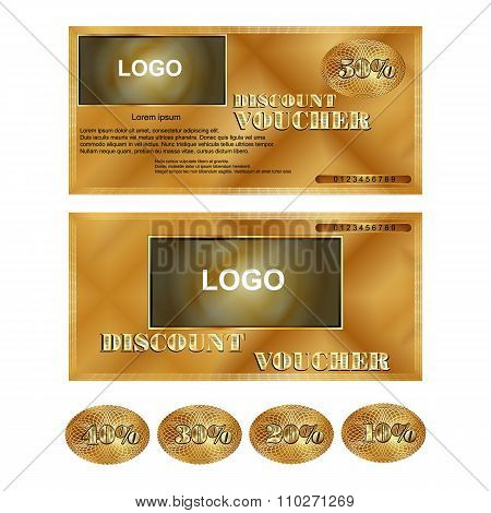 discount voucher gold