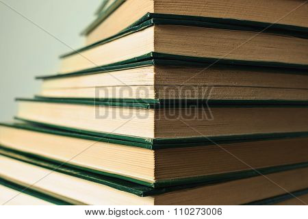 Books Stairs Stack