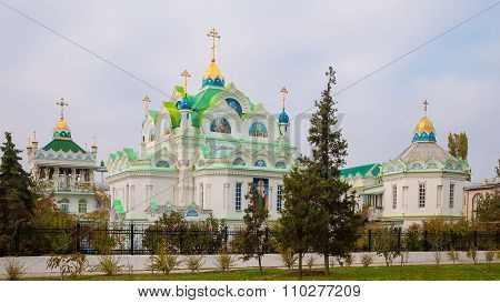 Church of St. Catherine, located in the Crimean resort of Feodosiya