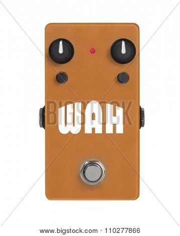 Guitar Effect Pedal - Stomp box -  Wah