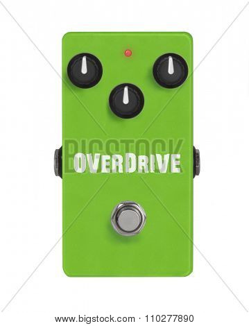 Guitar Effect Pedal - Stomp box -  Overdrive - Distortion - Gain