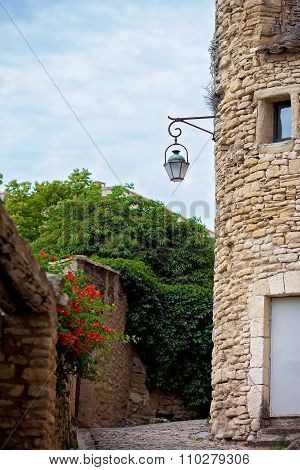 Street In The Historic Village Of Gordes, Provence, France