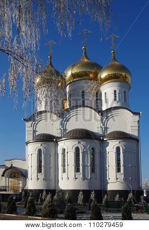 Church Of The Transfiguration In Zhukovsky