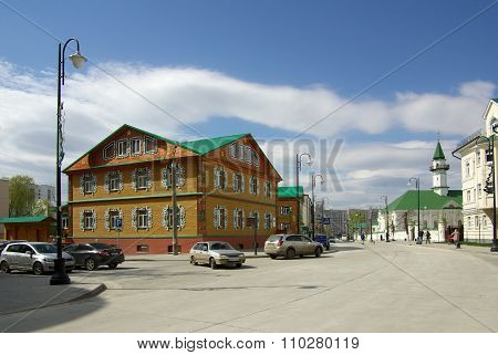 Staro-tatarskaya Sloboda (old Tatar Village) In Kazan