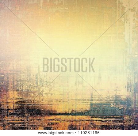 Beautiful vintage background. With different color patterns: yellow (beige); brown; black; pink