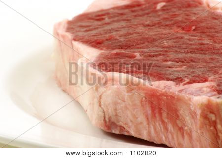 Raw T-Bone Steak