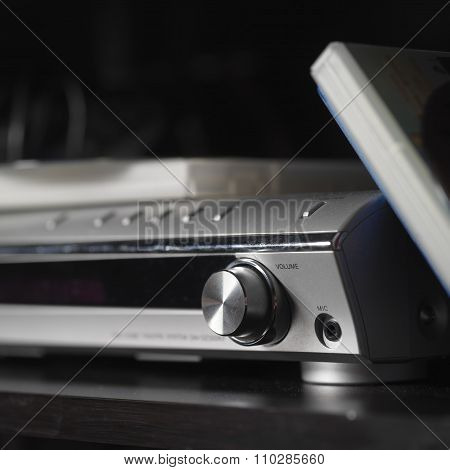 Dvd Player Closeup