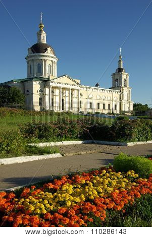 Kolomna, Russia - Jule, 2014: Cathedral Of The Archangel Michael In Kolomna