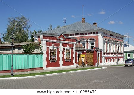 Kolomna, Russia - June, 2012: Manor Of Merchant Petrov On The Street Lazhechnikov In Kolomna, Moscow