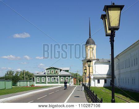 Kolomna, Russia - June, 2012: Great Monasteries Of Russia. Novo-golutvin Holy Trinity Monastery