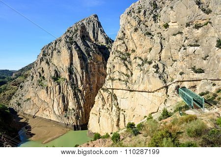 Caminito Del Rey Canyon Entrance