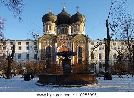Moscow, Russia - November, 2015: The Estate Of The Romanovs In Izmailovo. Church Of The Intercession