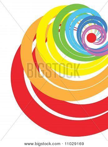 Espiral de arco iris
