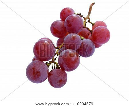 Bunch Of Ripe Scented Grapes