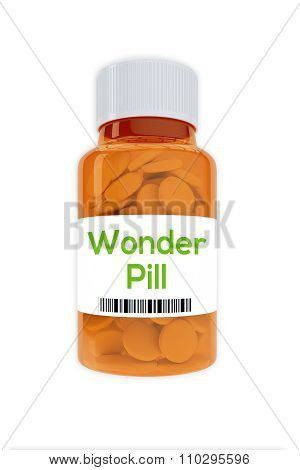 Wonder Pill Concept