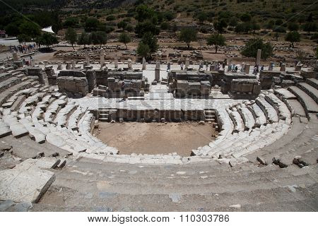 Theater Of Ephesus Ancient City