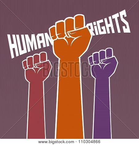 Hand Holding For Human Rights