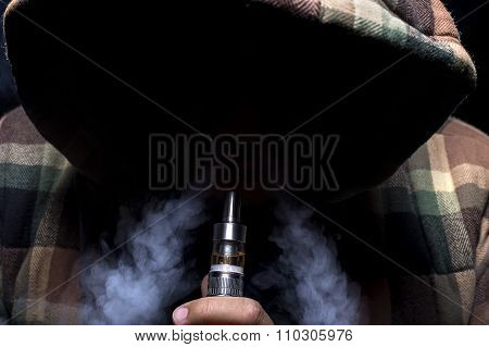 Ominous Looking Vape Smoker