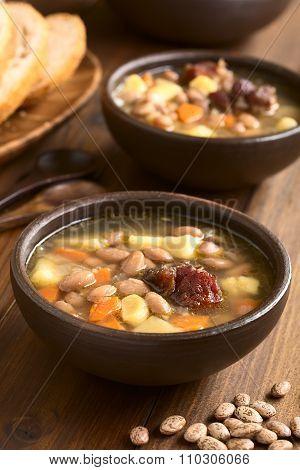 Hungarian Babgulyas Bean Soup