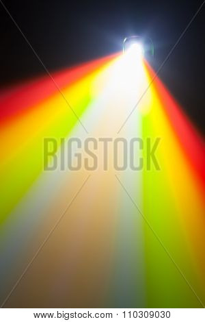 color light of projector