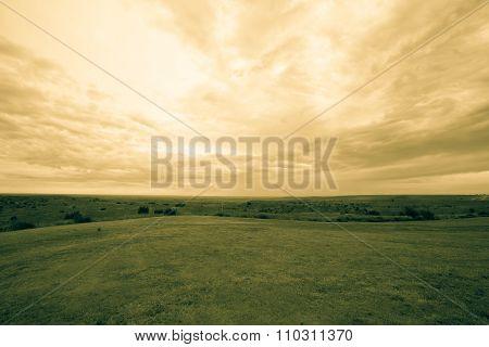 Expansive Texas landscape