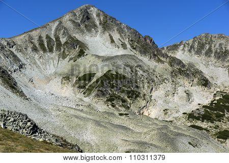 Rocks under Polezhan peak, Pirin Mountain