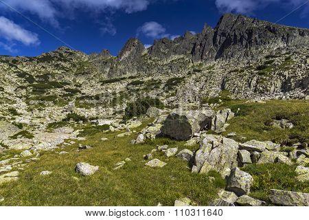 Rocks under Dzhangal Peak, Pirin Mountain
