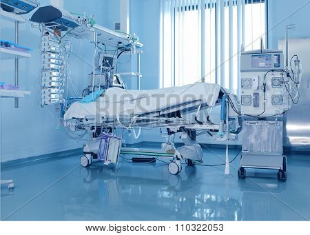 Severely Ill Patients And The Dialysis Machine