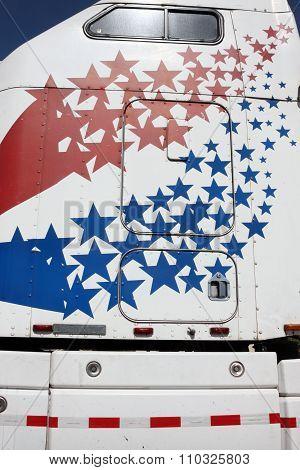 Star Spangled Truck