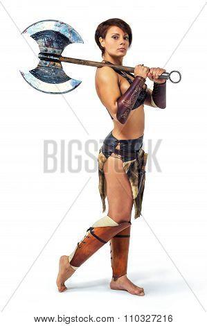 Warrior - Woman With An Axe