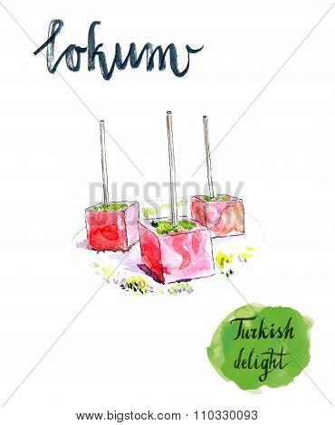 Turkish Sweet Delight Locum