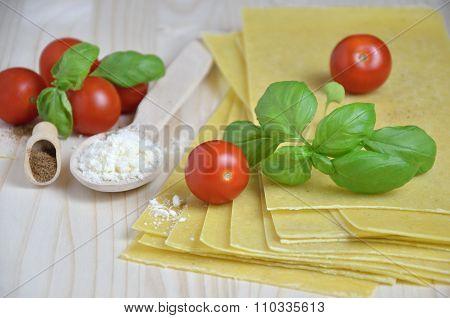 Preparing Delicious Lasagna