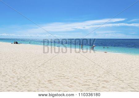 Azure Blue Sea