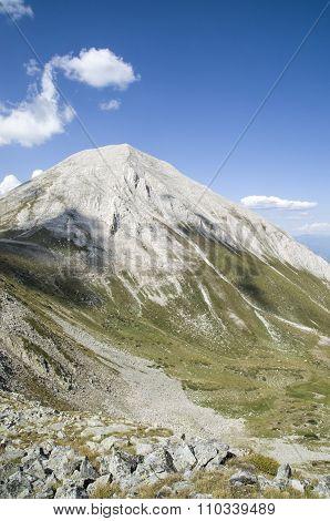 Vihren Peak In The Pirin Mountain, Bulgaria