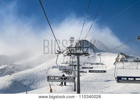 Andorra beautiful mountain view