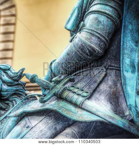 Cosimo I Statue In Piazza Della Signoria