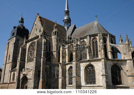 The Church Of Nogent Le Roi In Eure Et Loir