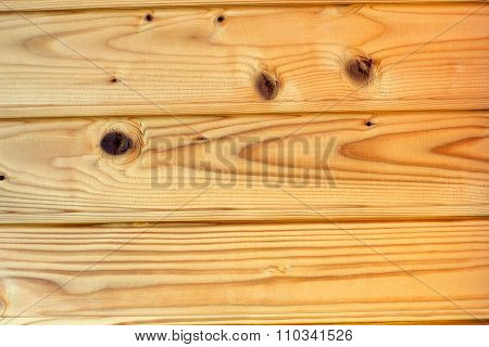 Pine Wooden Paneling As A Background