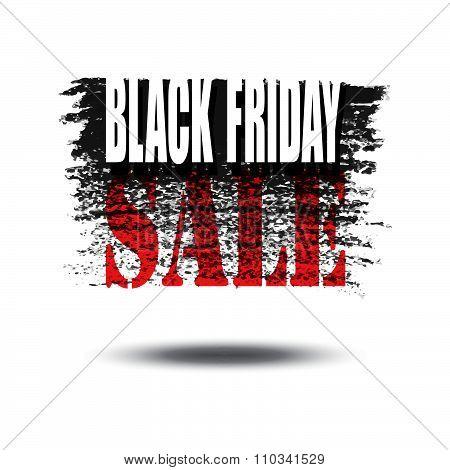 Black Friday Sale Card Or Banner.