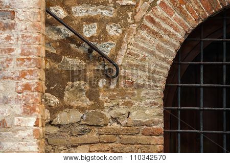 Detail In Brick And Iron