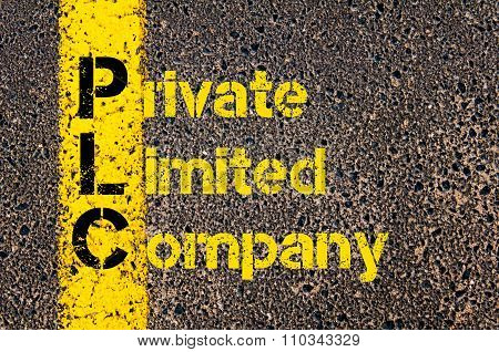 Accounting Business Acronym Plc Private Limited Company