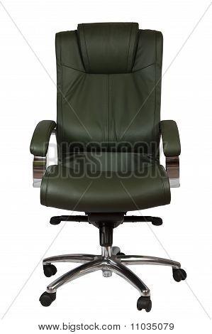 Green Luxury Office Armchair