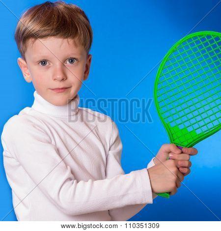 The Boy Played Tennis