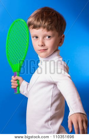 The Boy Played Tennis