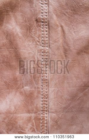 Leather With Seams