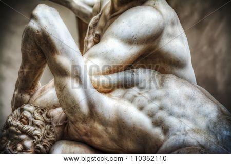 Hercules And Nesso Centaur Statue