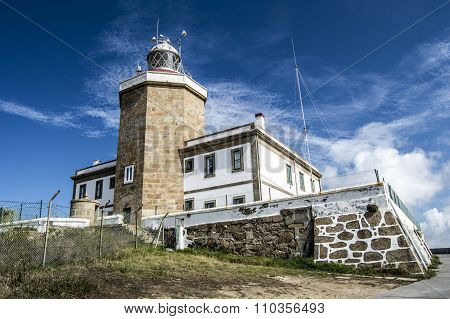 Finisterre lighthouse in A Coruna